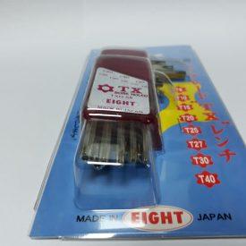آچار آلن ستاره ای T8–T40سوراخدار ایت ژاپن